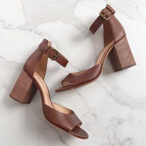 Madewell block heel sandals